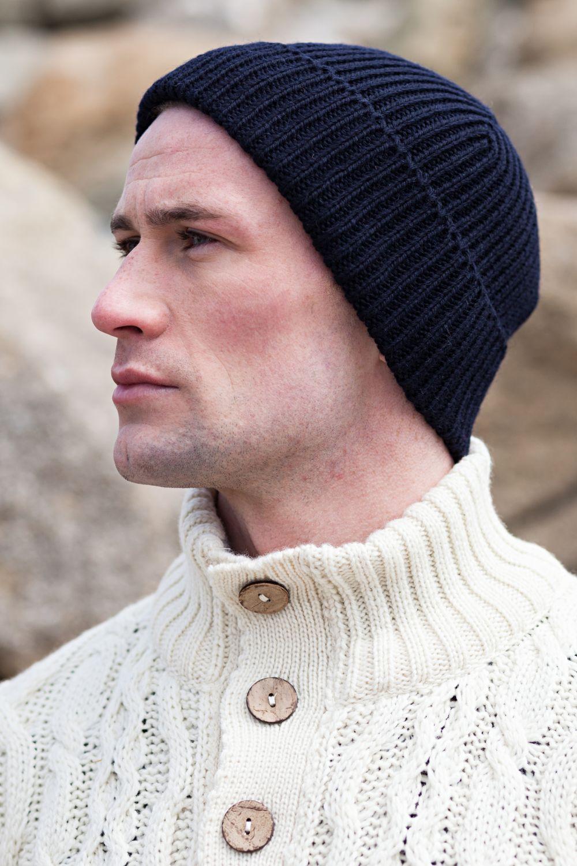 Fisherman Beanie Aran Islands Knitwear