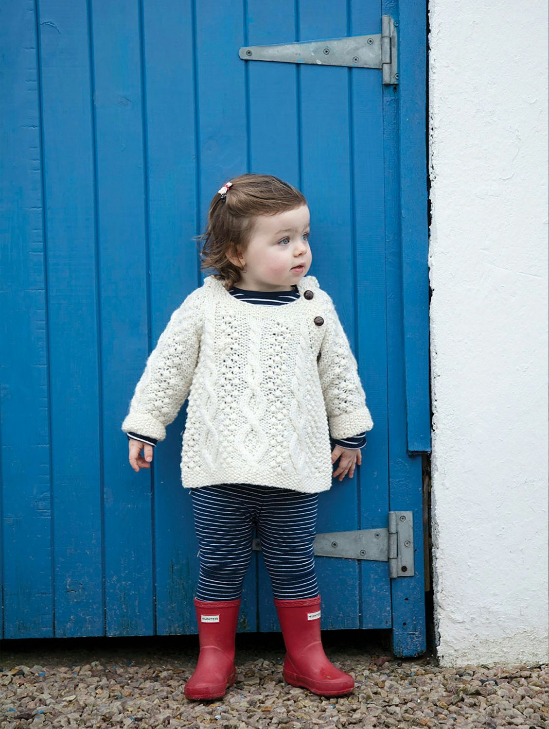 Pixie Style Children's Hand Knit Sweater