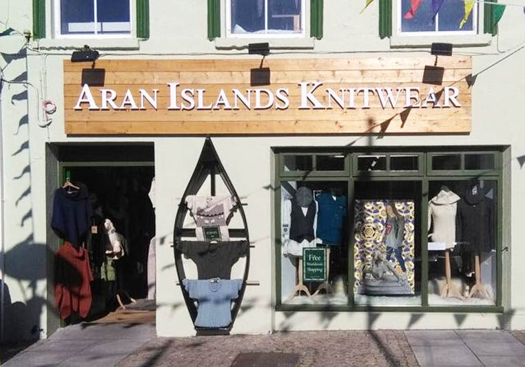 aran - store locations - clifden